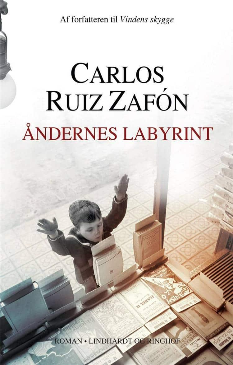 Åndernes labyrint, Carlos Ruiz Zafón, roman