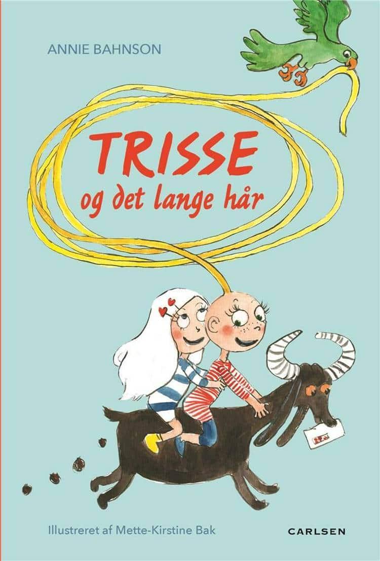 Trisse og det lange hår, Annie Bahnson, børnebog, børnebøger, bøger til piger, seje piger