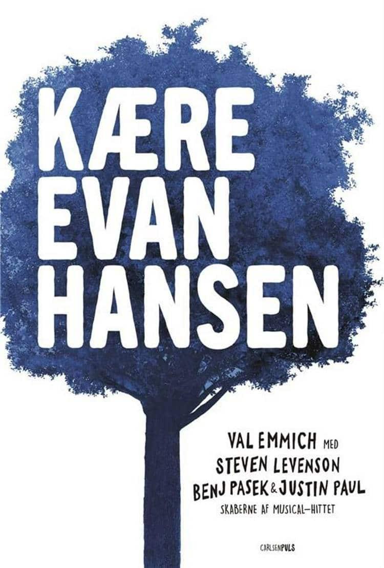 Kære Evan Hansen, Justin Paul, Steven Levenson, Benj passek, Dear Evan Hansen, Val Emmich, YA, ungdomsbog, ungdomsbøger,