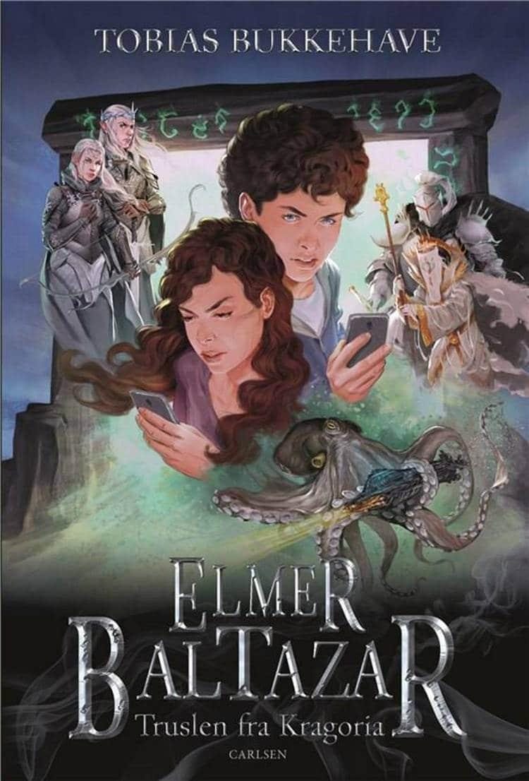 Elmer Baltazar, truslen fra Kragoria, fantasy, børnebog, børnebøger,