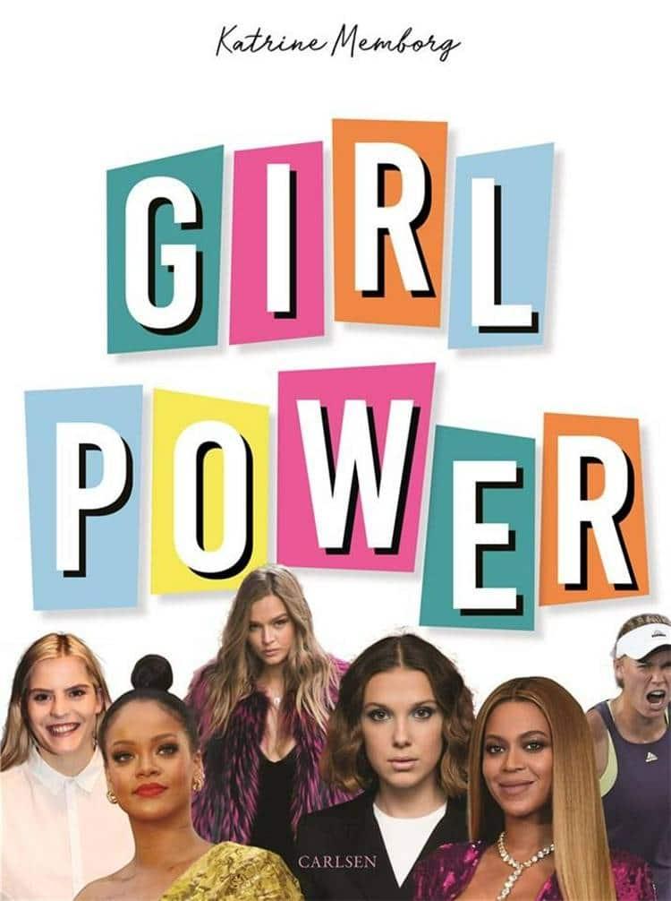 Girlpower, girl power, Katrine Memborg, seje piger, børnebog, børnebøger