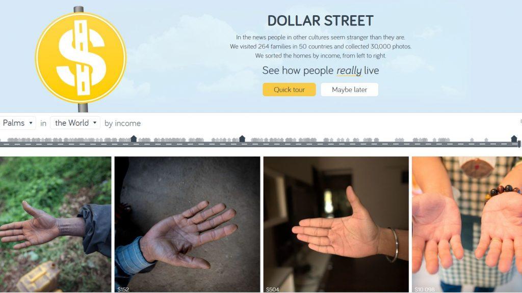 Dollar street, Hans Rosling, Gapminder, Factfulness