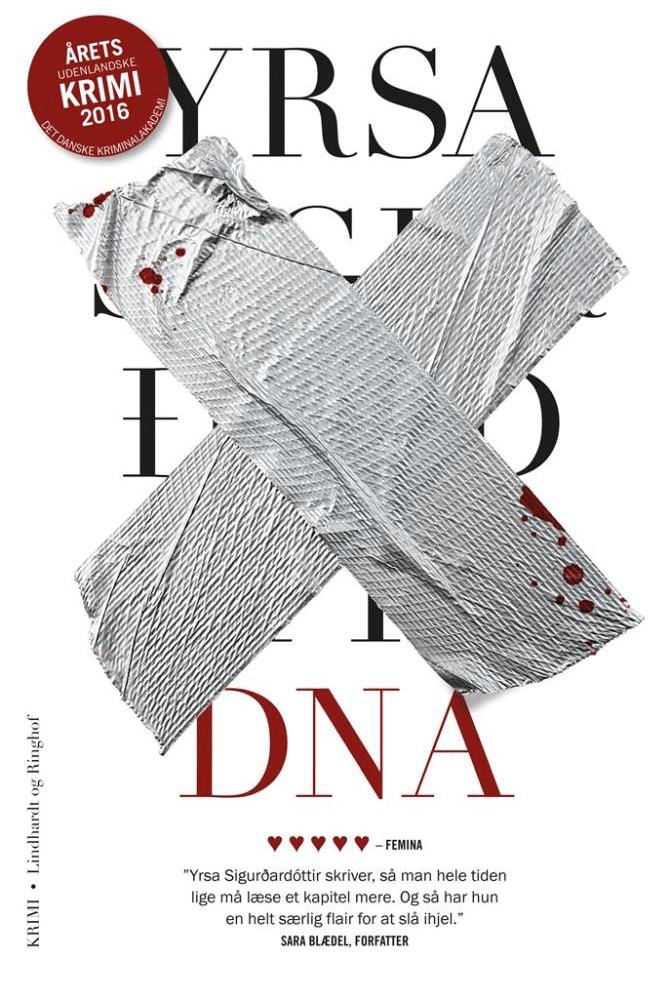 DNA, Yrsa sigurdardottir, Yrsa Sigurðardóttir, krimi, islandsk krimi,