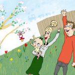 Pottetræning, søvnproblemer og søskendekonflikter: Mød Ella og Ollie