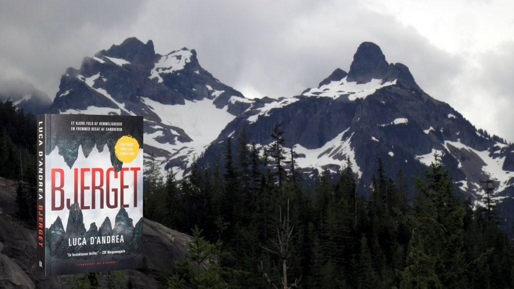 Bjerget, Luca D'Andrea, Krimi, Spænding, spændingsroman, lavine, mysterium, drama, thriller, italiensk, dolomitterne