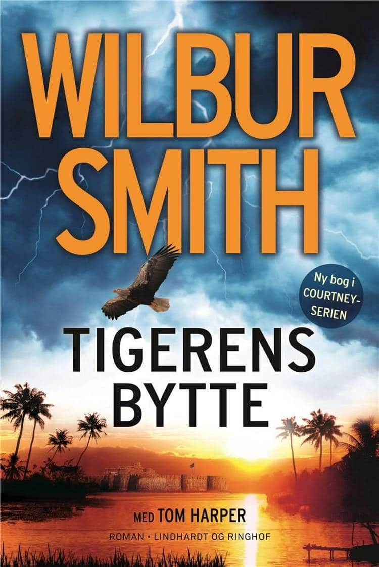Wilbur Smith, Tigerens bytte, Tom Harper, Courtney-serien