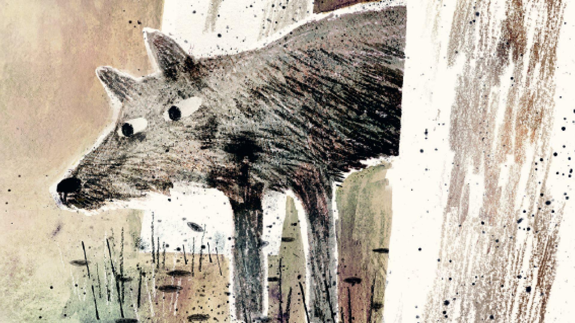 Ulven er løs, ulv, ulven, højtlæsning, sebastian klein, børnebøger, fakta om ulven