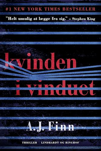 Kvinden i vinduet, A.J. Finn, psykologisk thriller, thriller, domestic noir