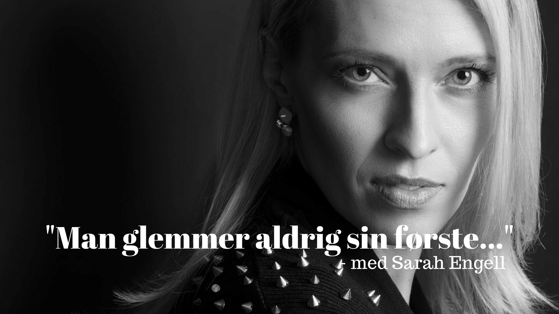 Sarah Engell, Man glemmer aldrig sin første, debut, debutroman