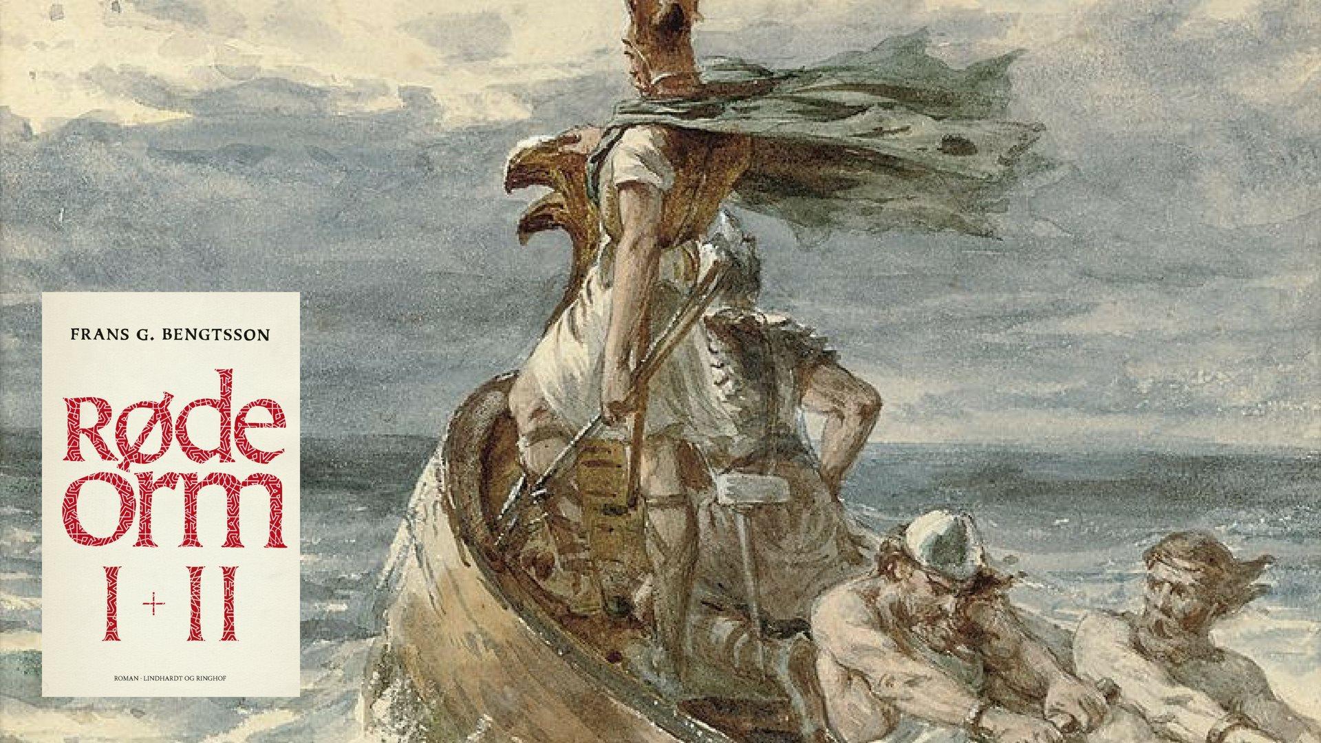 røde orm, frans bengtsson, vikinger, sagaer, moesgaard museum, dyrehaven, det kongelige teater, andreas jebro, teater, vikingeskib