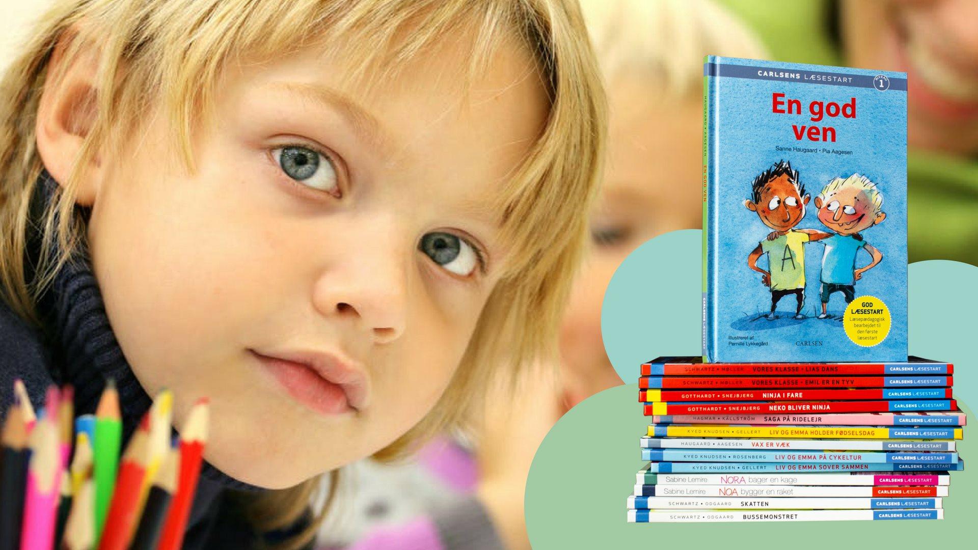Carlsens læsestart, læsestart, lixtal, lettal, lær at læse, skolestart, letlæsning, selvlæsning, nye læsere