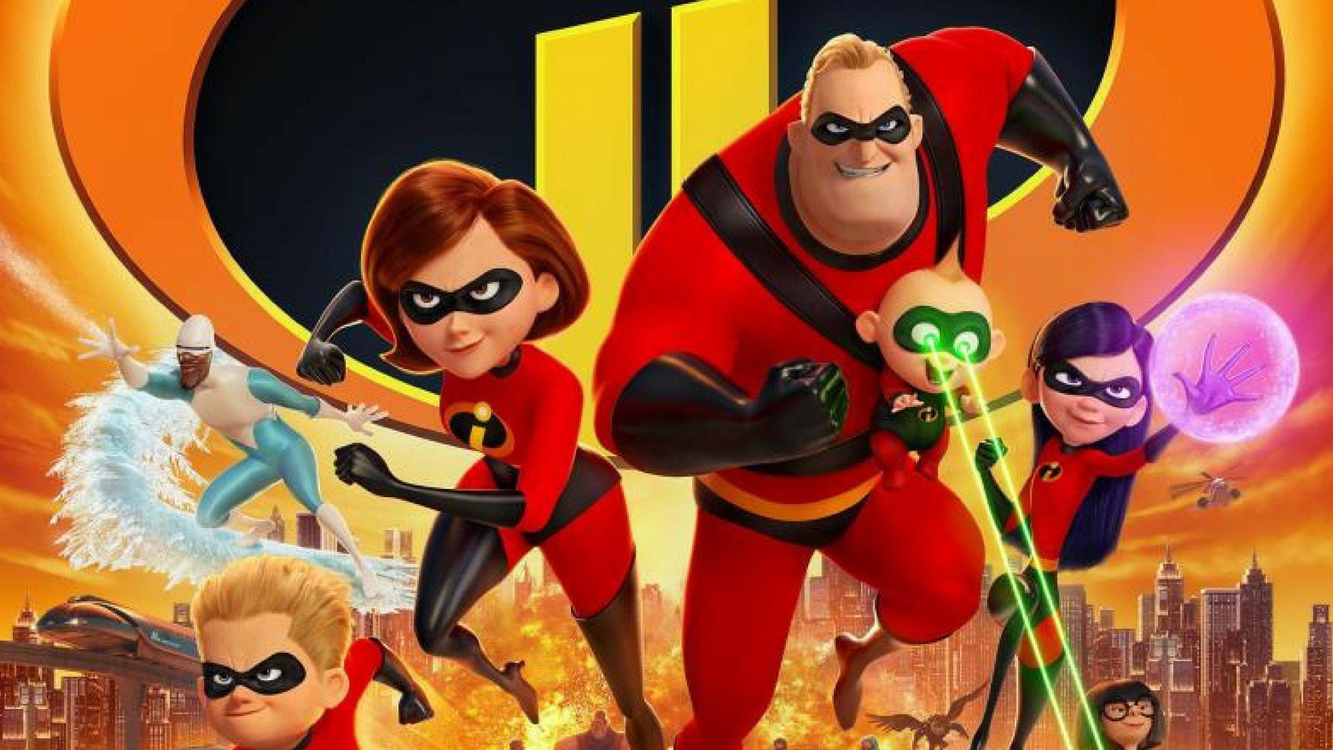De Utrolige, De Utrolige 2, Disney, Pixar, biograffilm, familiefilm, spillefilm, film, animationsfilm, premiere