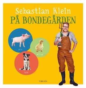 Sebastian Klein, Sebastian Klein på bondegården, papbog, papbøger, dyrebog, dyrebøger, børnebog, børnebøger