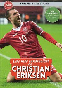 Læs med landsholdet, Carlsens læsestart, fodboldbog, fodboldbøger, Christian Eriksen, letlæsningsbog, letlæsningsbøger