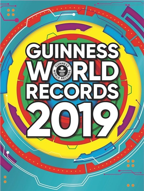 Guinness World Recrods 2019, Guinness World Recrods, GUINNESS REKORDBOG