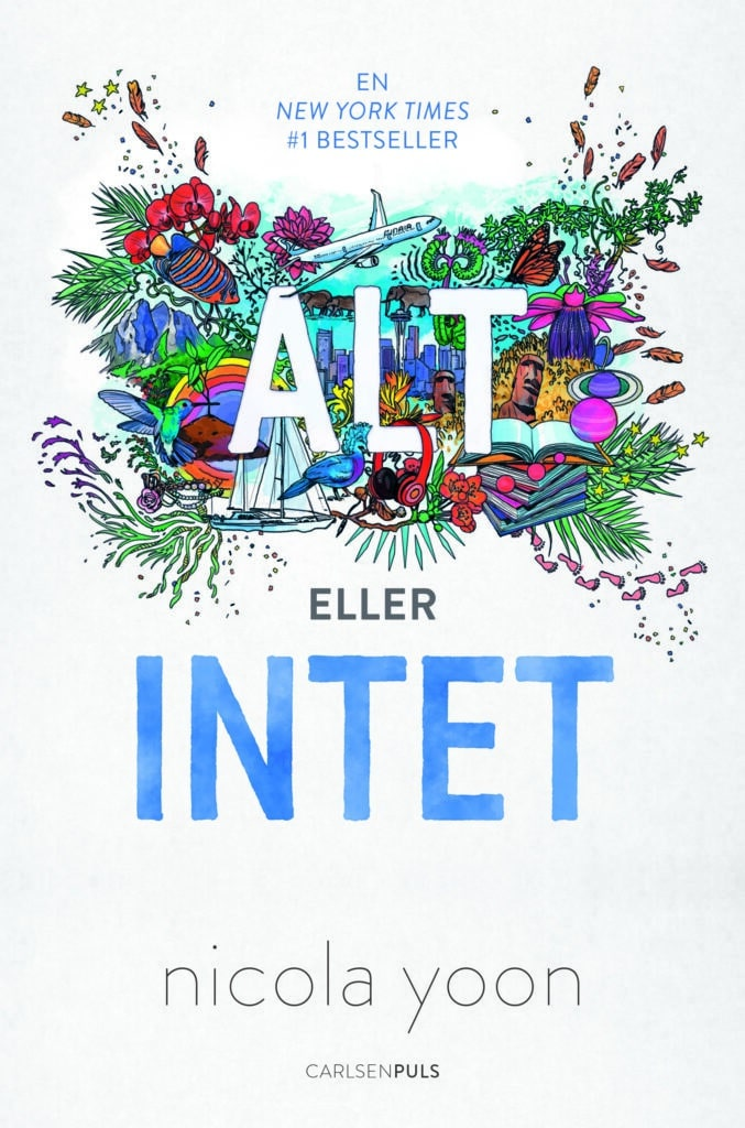 alt eller intet, nicola yoon, ya, Young adult, everything everything