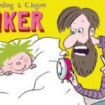 Sød serie af Alberte Winding om nysgerrige Anker og hans utålmodige far