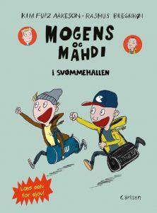 Mogens og Mahdi i svømmehallen