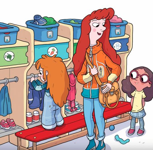 Alberte i børnehave, børnehave, børnehavebarn, højtlæsning