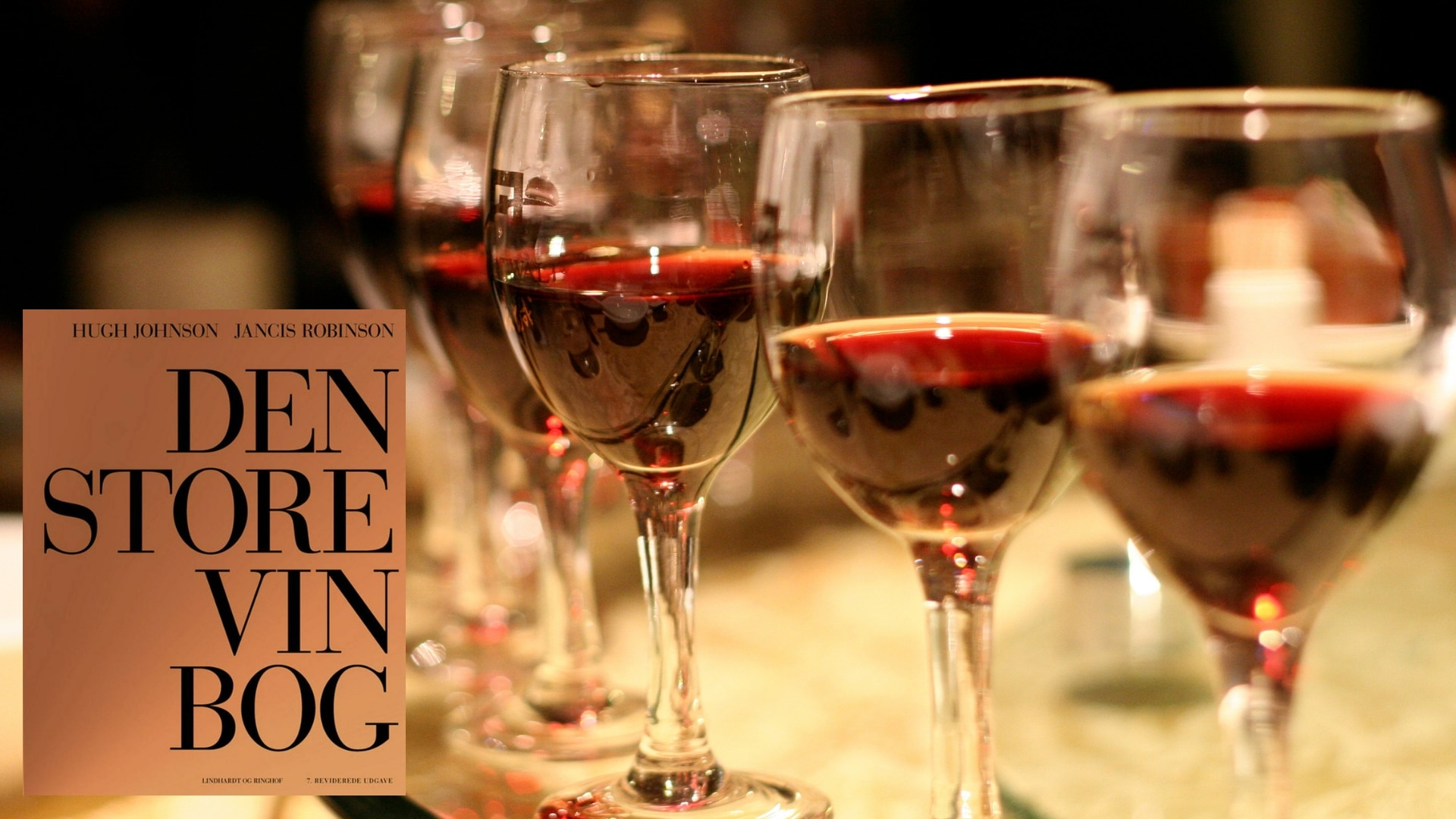 lindhardt og ringhof, vin, den store vinbog, bog om vin, jancis robinson, hugh johnson, vinguide, rødvin, hvidvin