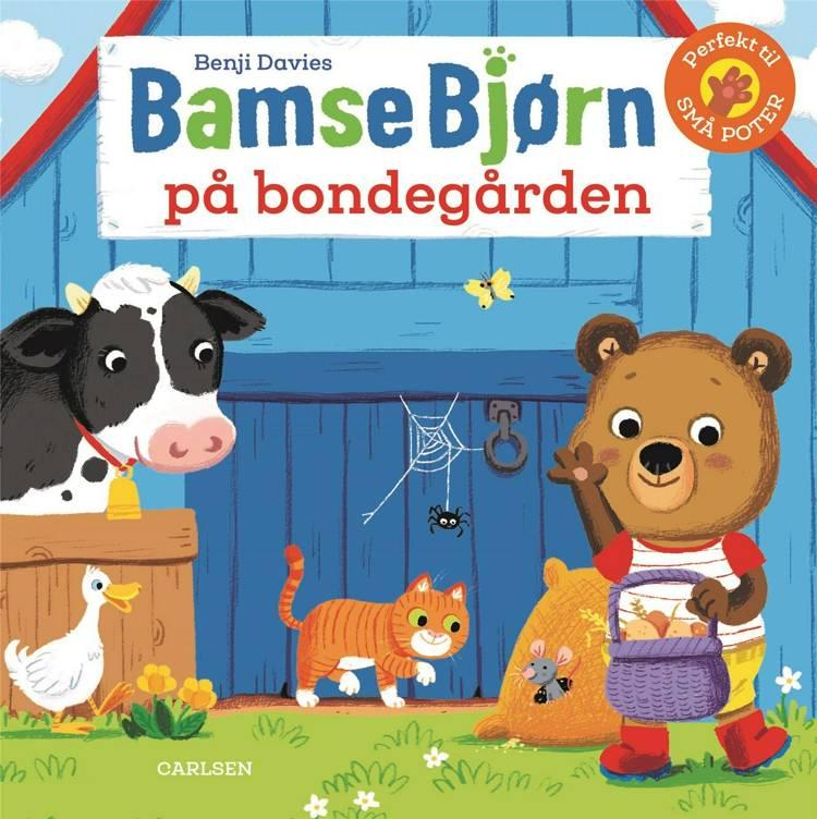 Bamse Bjørn, Bamse Bjørn på bondegården, børnebog, børnebøger, papbog, papbøger, bøger til de yngste