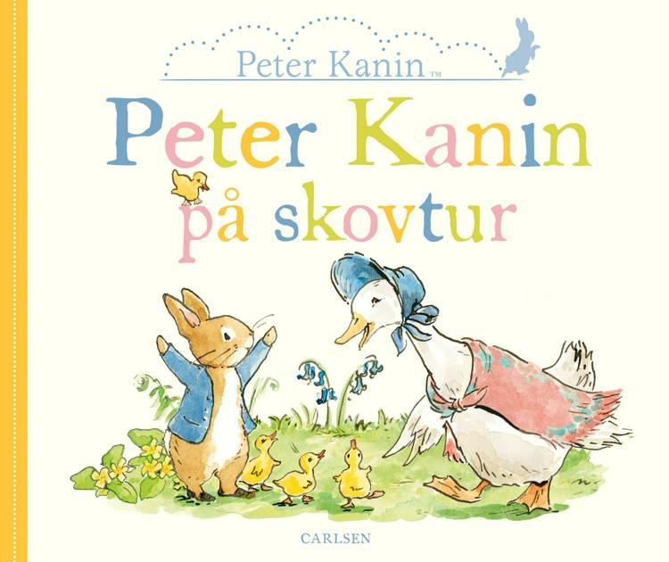 Peter Kanin, Peter Kanin på skovtur, børnebog, børnebøger, papbog, papbøger, bøger til de yngste