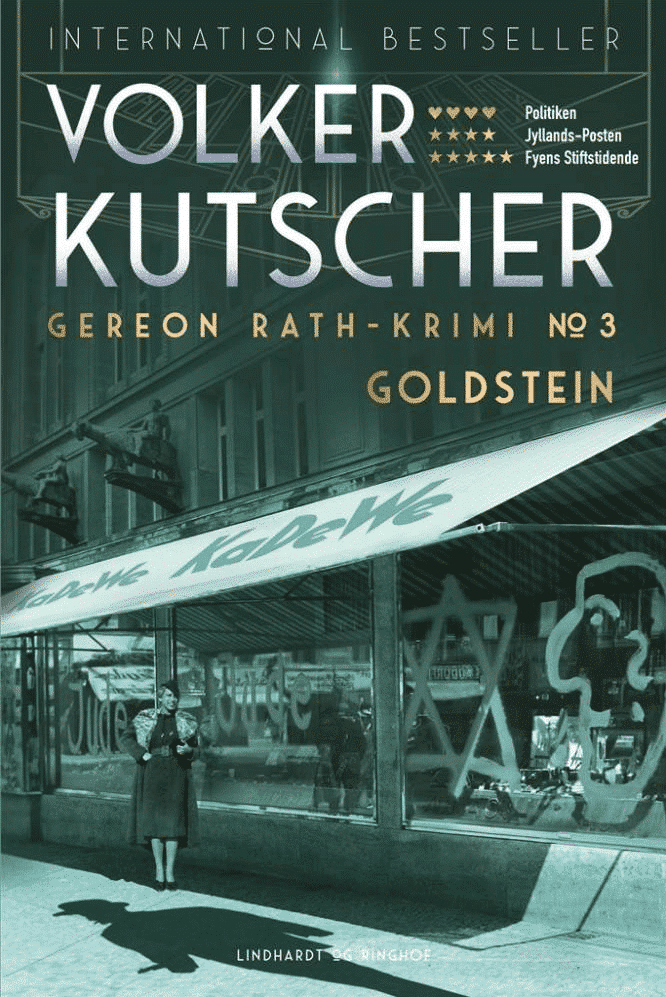 Volker Kutscher, Goldstein, Gereon Rath, krimi, Babylon Berlin, tysk krimi