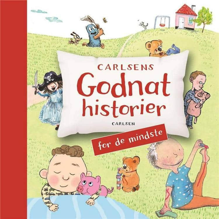Carlsens godnathistorier, Carlsens godnathistorier, børnebog, børnebøger, godnatlæsning, godnathistorier, godnathistorie, højtlæsning, højtlæsningsbog
