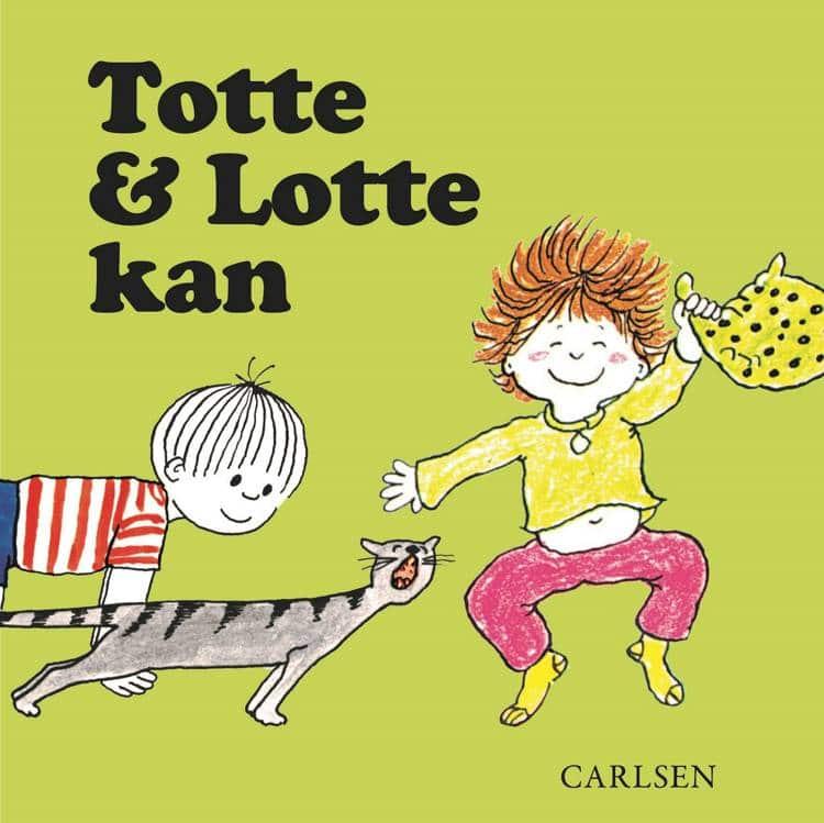 Totte og Lotte kan, Totte og Lotte, Gunilla Wolde, børnebog, børnebøger, billedbog, billedbøger