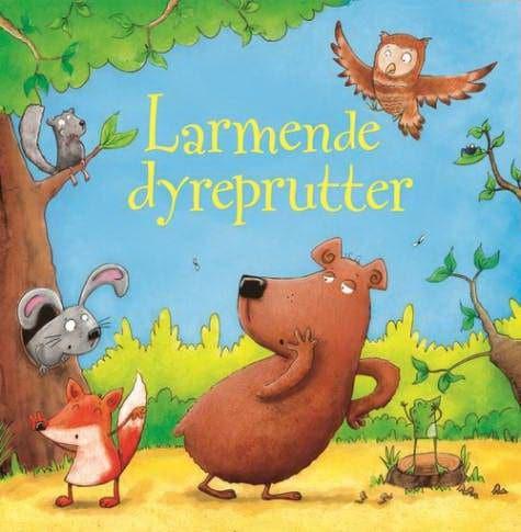 Larmende dyreprutter, børnebog, børnebøger, babybøger, babybog, bøger til baby