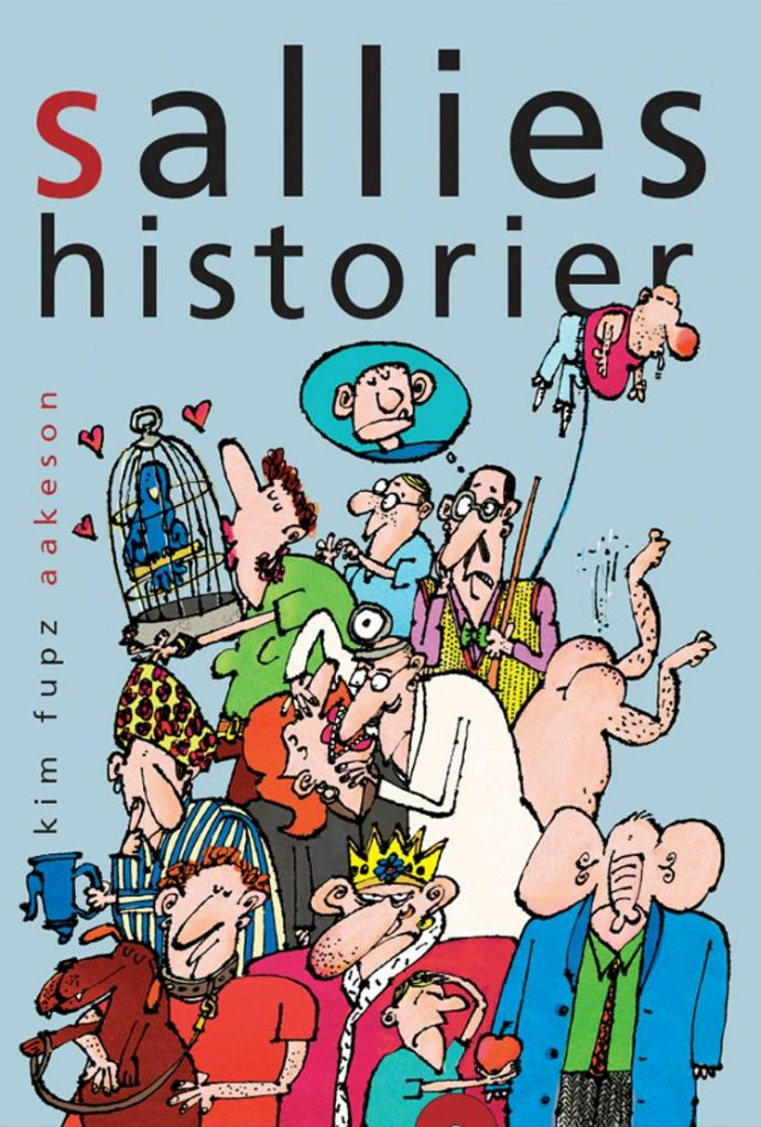 Sallies historier, Kim Fupz Aakeson, børnebog, børnebøger, Kim Fupz