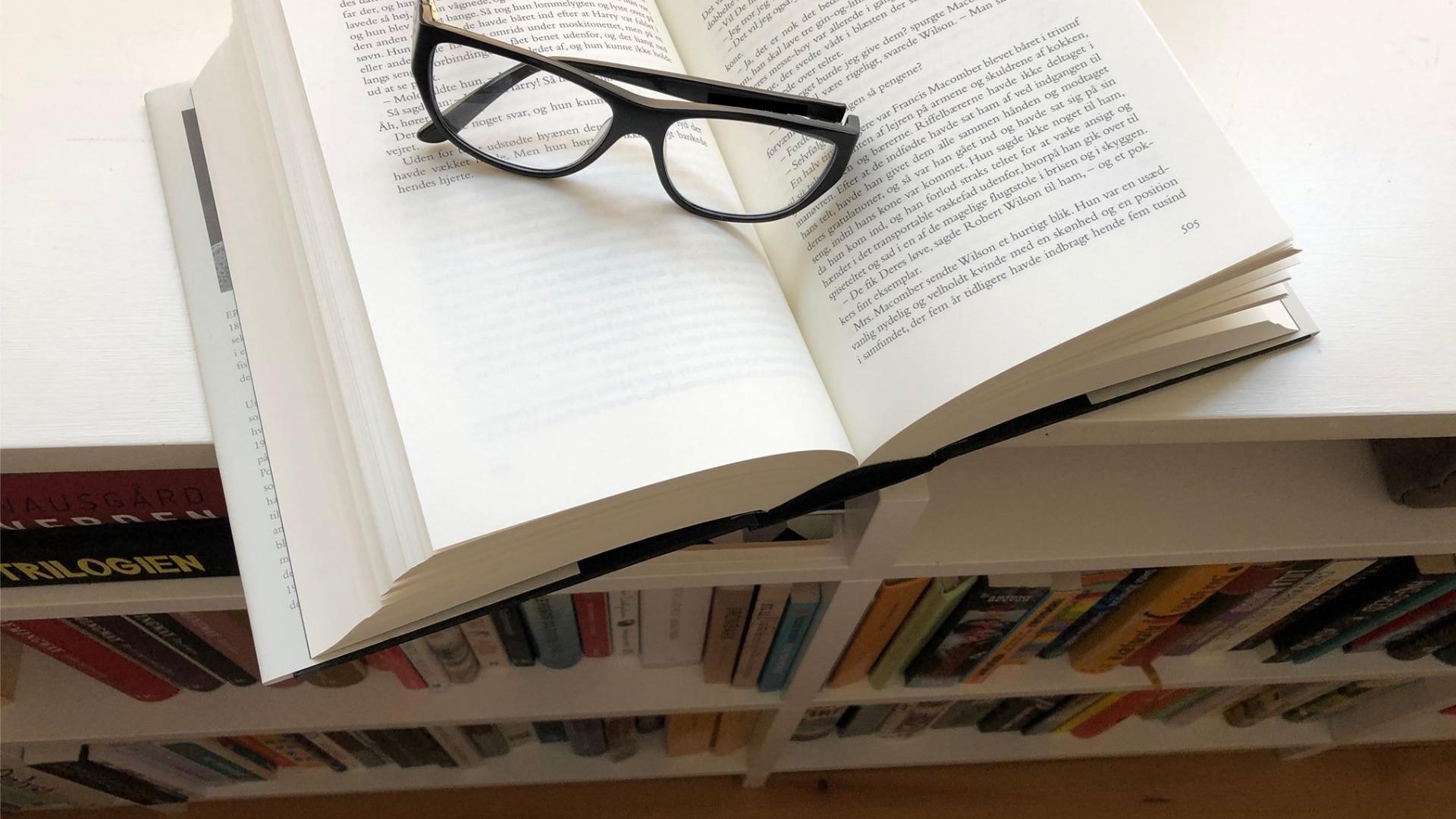 Læselyst, at læse, reol, bogreol