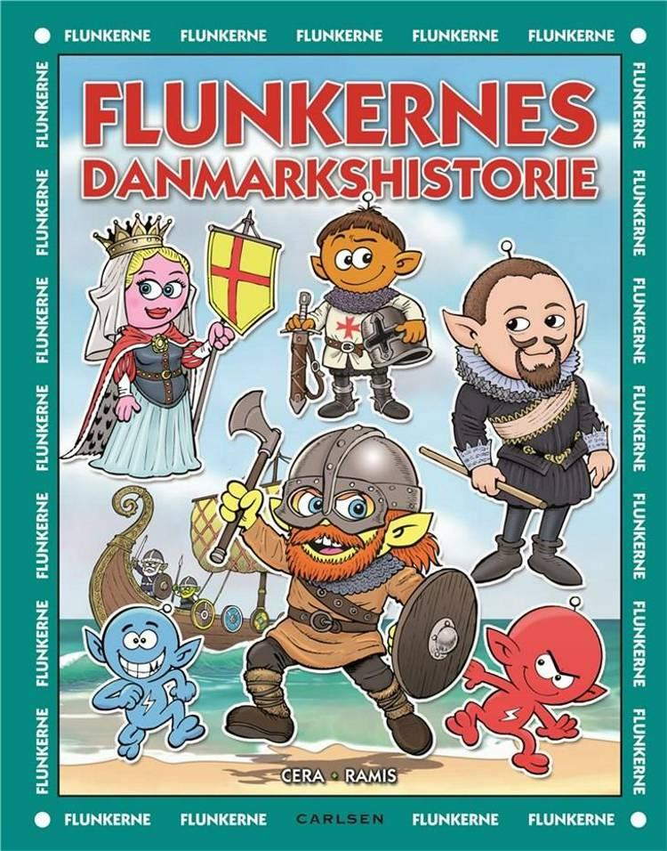 Flunkerne, flunkebog, Flunkernes danmarkshistorie, myldrebog, myldrebillede
