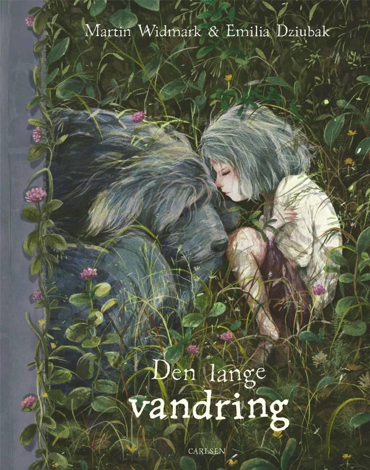 Den lange vandring, Martin Widmark, Emilia Dziubak, bøger om sorg, bøger om sørg til børn, børnebog om sorg, børnebøger om sorg, billedbog