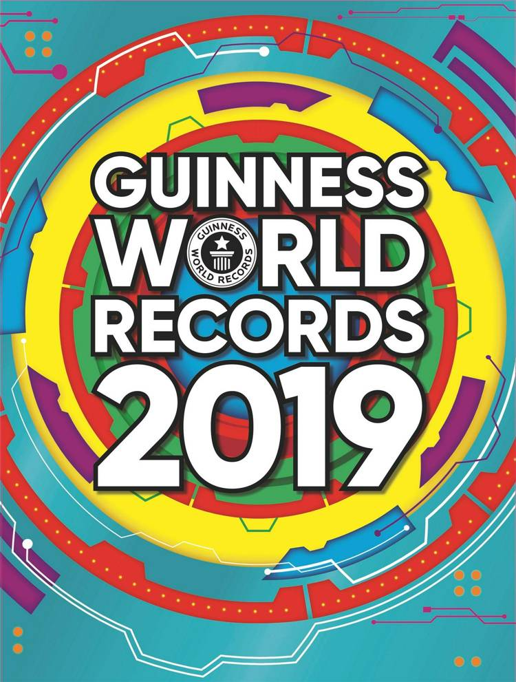 Guinness World Records, Guinness World Records 2019, rekordbog, rekordbøger, årbog, årbøger, rekorder