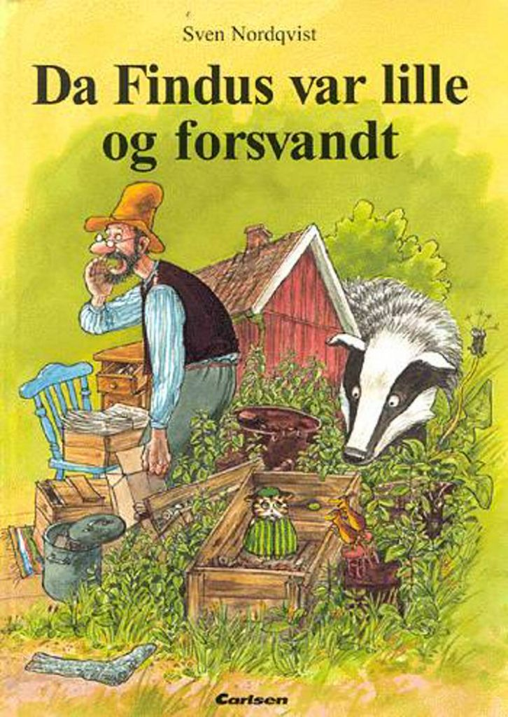 Da Findus var lille og forsvandt, Svend Nordqvist, Findus, Peddersen, Peddersen og Findus, børnebog, børnebøger