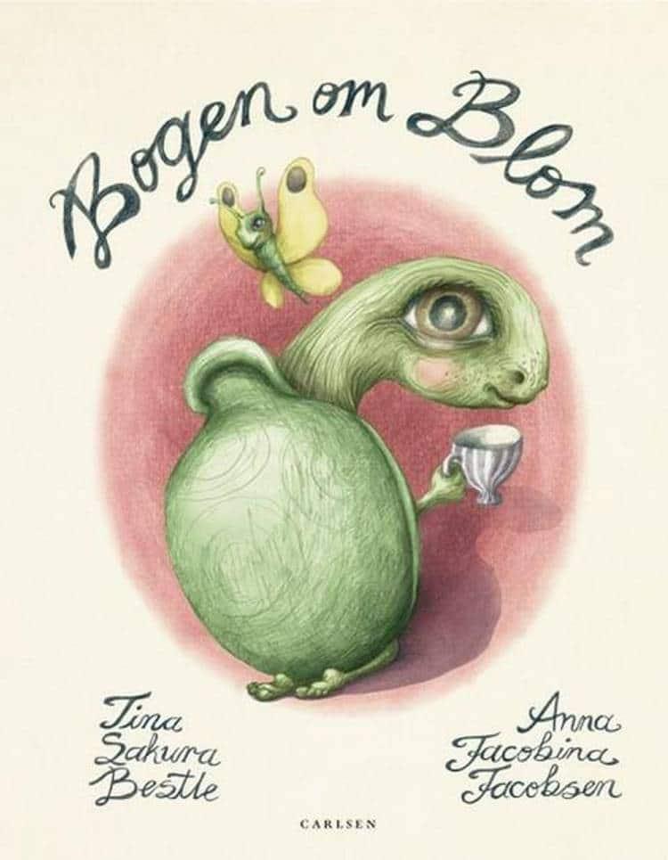 Bogen om Blom, Tina Sakura Bestle, Anna Jacobina Jacobsen, børnebog, billedbog, billedbøger, børnebog,