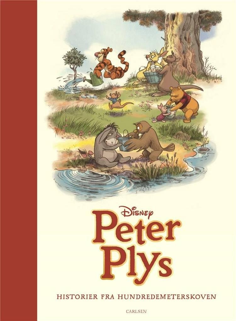 Peter Plys, Historier fra Hundredemeterskoven, Disney, Grislingen, højtlæsningsbog, klassikere til børn, børnebogsklassiker, skønne børnebøger
