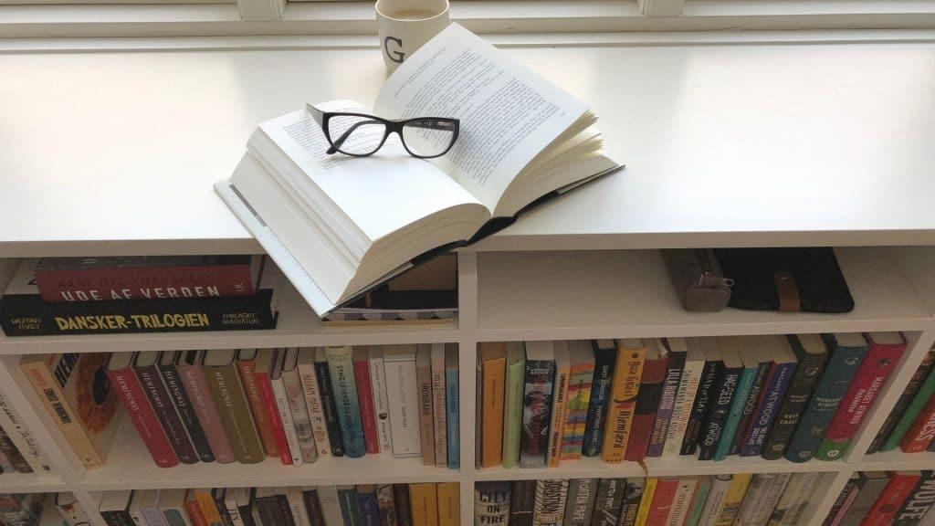 Bogreol, reol, læselyst, at læse
