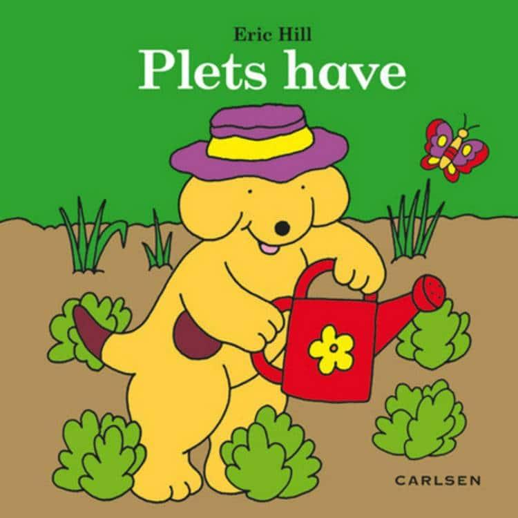 Plets have, Eric Hill, børnebog, børnebøger, papbog, papbøger
