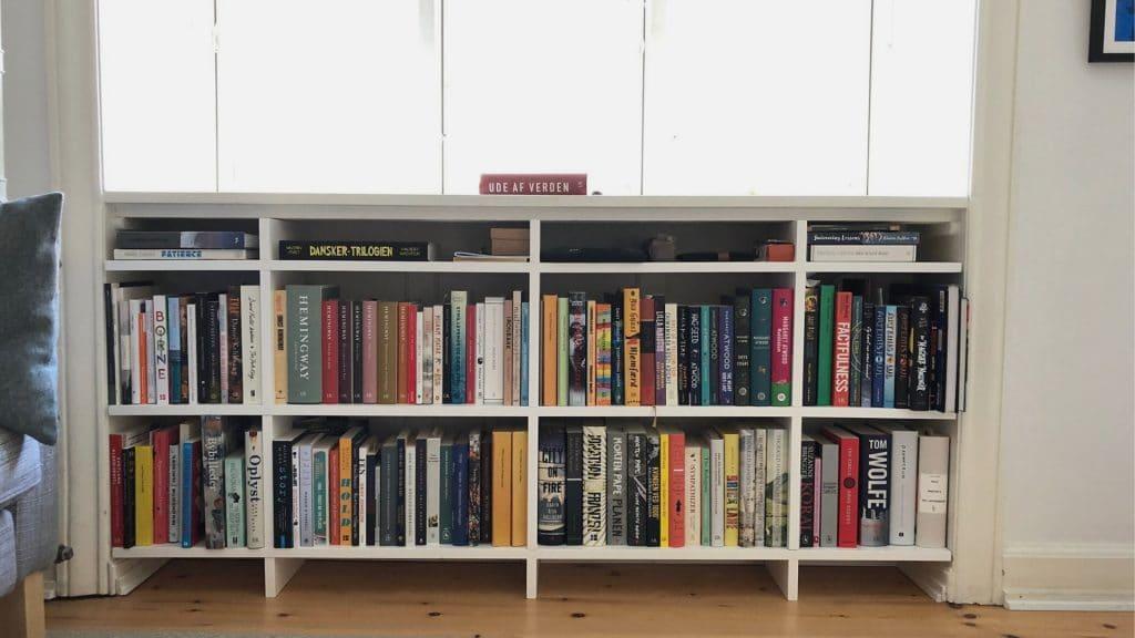 Reol, Bogreol, TBR-reol, læselyst, at læse