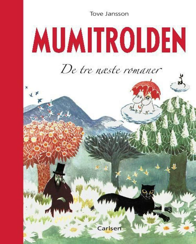 Mumitrolden, Mumidalen, De tre næste romaner, mumi, Tove Jansson