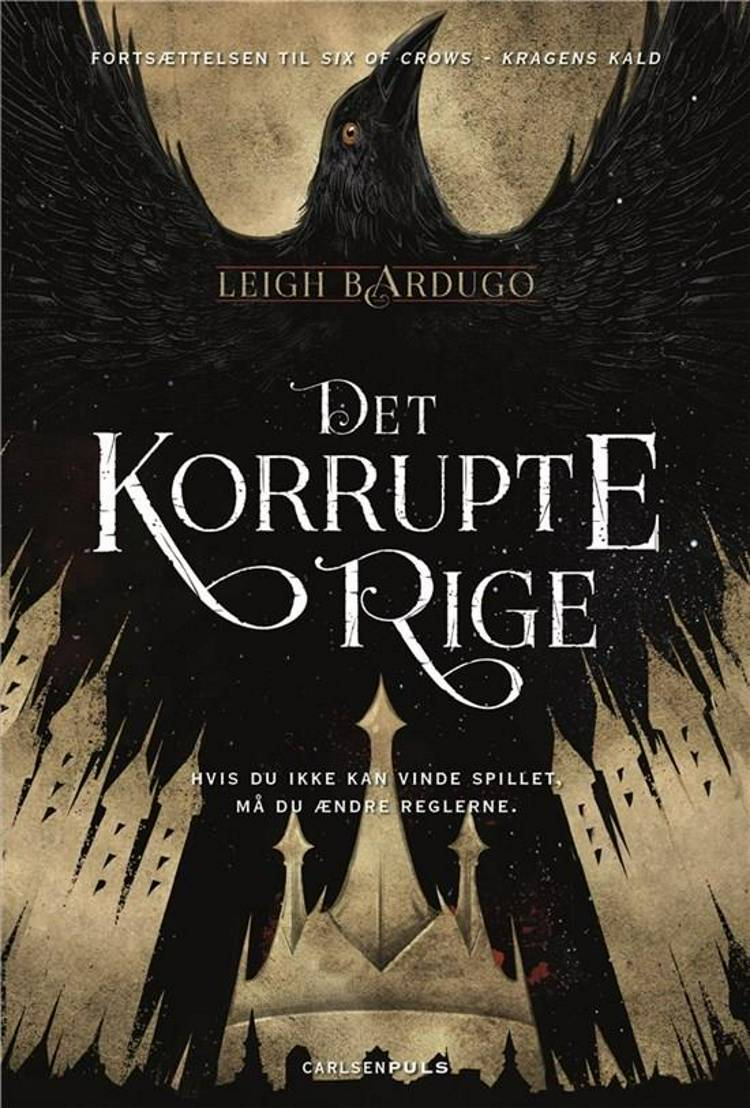 Six of crows, Leigh Bardugo, Det korrupte rige, fantasy, fantasyroman, fantasy-roman