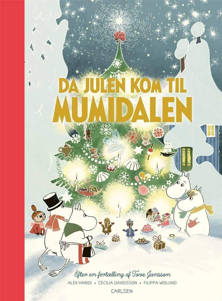 Da julen kom til Mumidalen, Mumitrolden, Mumidalen, mumibøger, mumi, Tove Jansson