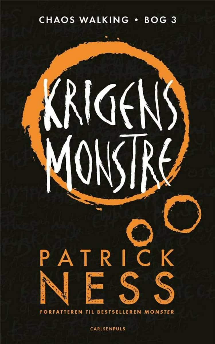 Chaos Walking, Patrick Ness, krigens monstre, fantasy, ungdomsbog, ungdomsbøger, YA