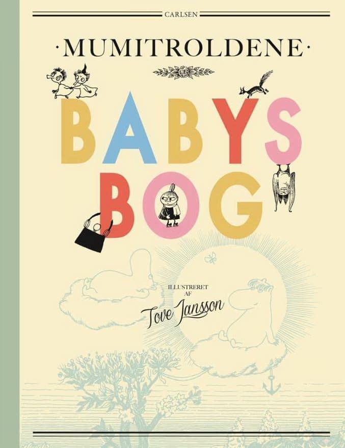 Babys bog, Mumitrolden, Mumidalen, mumibøger, mumi, Tove Jansson