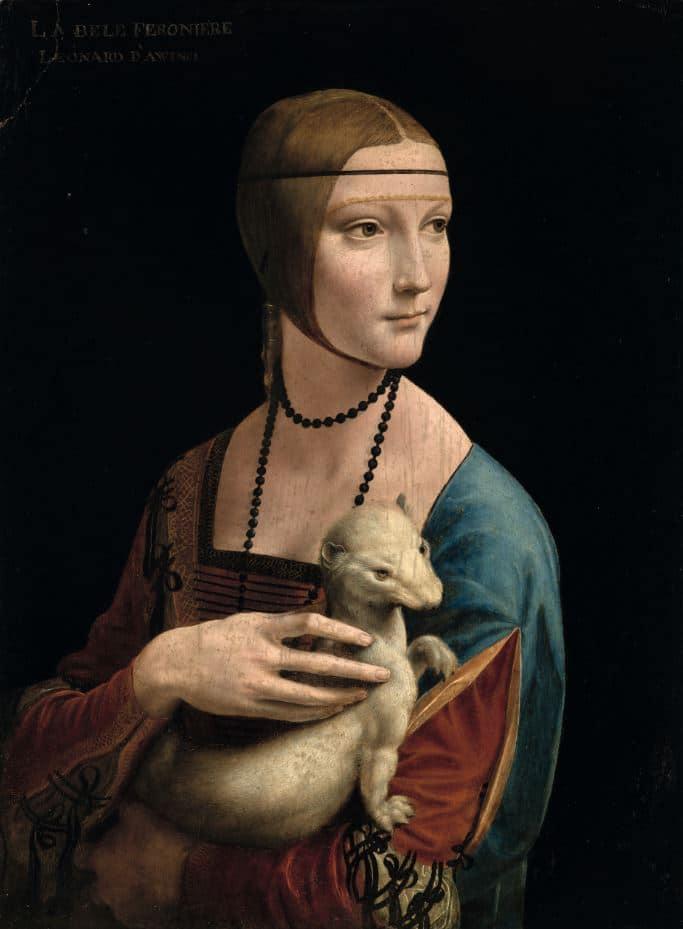 Damen med hermelinen, Leonardo da Vinci, Da Vinci, Cecilia Gallerani