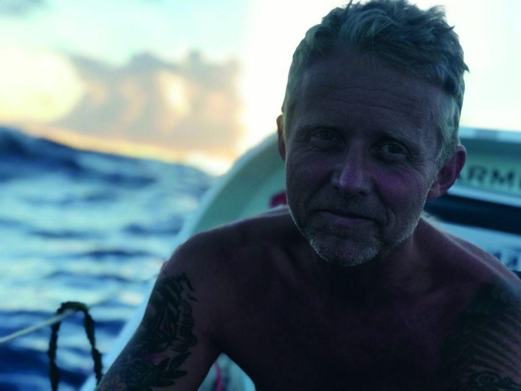Mads Vangsø, Tværs over Atlanten, biografi, sejlads