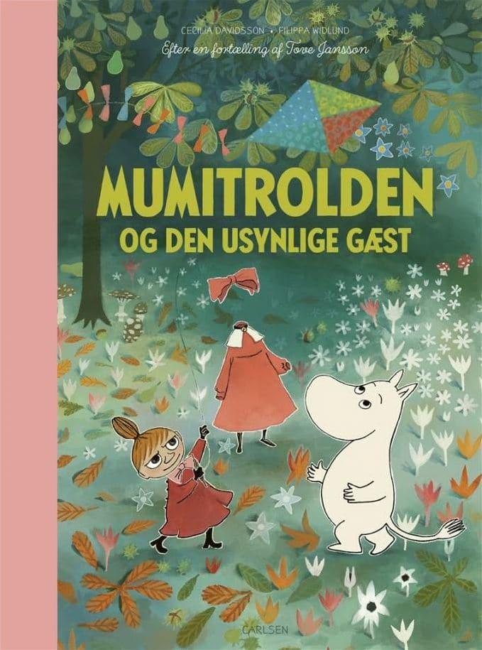 Mumitrolden og den usynlige gæst, Mumitrolden, Mumidalen, mumibøger, mumi, Tove Jansson