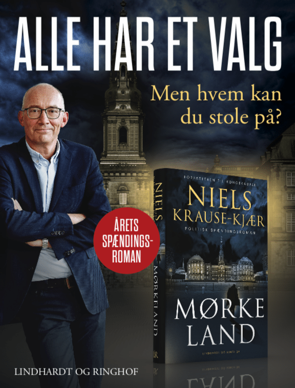 Alle har et valg, Mørkeland, Niels Krause-Kjær, Kongekabale, politisk spændingsroman, roman om Christiansborg, politisk krimi, politisk thriller, roman om folketingsvalg,